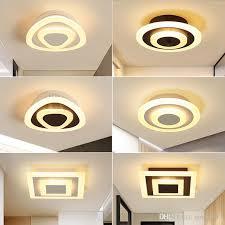großhandel deckenleuchte moderne led korridor le für badezimmer wohnzimmer rund quadratisch beleuchtung startseite dekorative leuchten