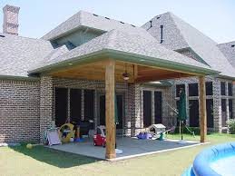 covered patio Covered Patio Designs in the Backyard – Indoor and