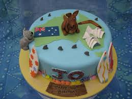 Cake Decorating Books Australia by Australian Birthday Cake Cakecentral Com