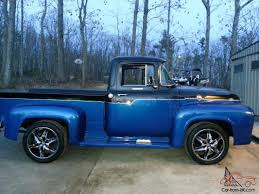99 Blue Ford Trucks 80s Two Toned Dark Blue And Silver Ford Pickups Black Two