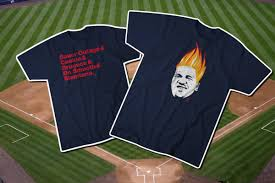 two new indians t shirts just in time for the playoff push let u0027s