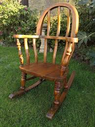 Antique Arts And Crafts Solid Oak Children's Rocking Chair | In ... Solid Peroba De Rosa Heavy Wood Rocking Chair Fniture Fascating Amish Chairs With Interesting Bz Kd20n Classic Wooden Childs Porch Rocker Natural Oak Ages 37 Lovely American Vintage Oak Antique Dexter Ash Duty Used For Sale Chairish Bent Style Jack Post Childrens Patio Of America Oria Brown Hardwood Michigan State