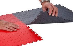 flooring ideas rubber floor tile interlocking for kitchen