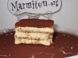 dessert au mascarpone marmiton tiramisu italie recette de tiramisu italie marmiton