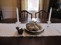 Lovely Everyday Dining Room Table Centerpiece Ideas Sweet White Candle Centerpieces And Scarf 6 Wonderful