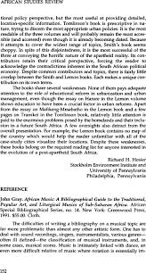 Notes 1 Thieme Darius L African Music A Briefly Annotated Bibliography