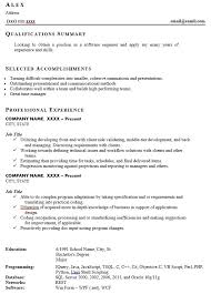 An Example Of A Bad Resume