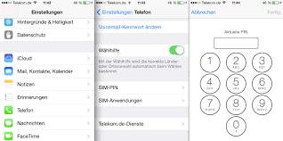 iPhone Tutorial PIN der SIM Karte und Code Sperre ändern – GIGA