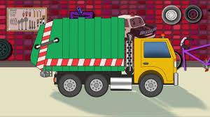 Garbage Truck | Car Garage | Toy Garage - YouTube