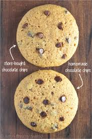 Clean Eating Chocolate Chip Cookies the difference between store bought & homemade chocolate