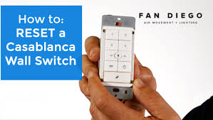 Harbor Breeze Ceiling Fan Remote Control Receiver by Casablanca Wall Switch Reset Fan Diego Youtube