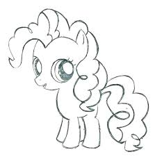 My Little Pony Pinkie Pie Coloring Page