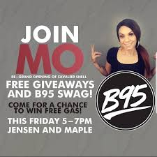 100 B95.com B95 TODAY TODAY TODAY Your Chance To Win A FREE Gas