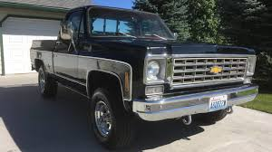 100 Old Chevy 4x4 Trucks For Sale At 16995 Could This 1976 Silverado 4X4 Shortbed Be A Truck