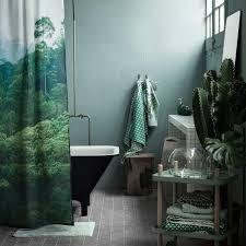 dschungel feeling duschvorhang h m home bild 5