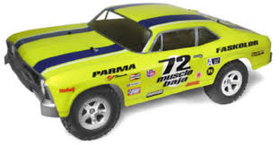 100 Rc Truck Bodys Parma 72 MUSCLE BAJA Clear Short Course Body For SlashSC10
