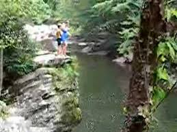 The Sinks Smoky Mountains by Smokey Mountain Cliff Jumping Youtube