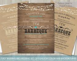 Printable I Do BBQ Wedding Reception Invitation