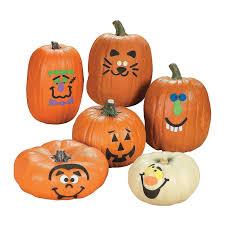 Fake Carvable Pumpkins by Amazon Com Foam Pumpkin Decorations Craft Kit Makes 12 Pumpkins