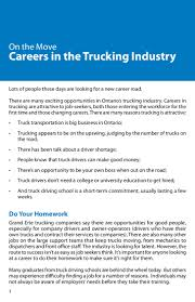 100 Truck Job Seekers On The Move Careers In The Ing Industry