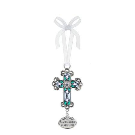 Ganz ER67062 Friendship Cross Ornament