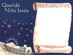 Formato Para Hacer La Carta Al Niño Jesús Para Mi Pequeña Romina