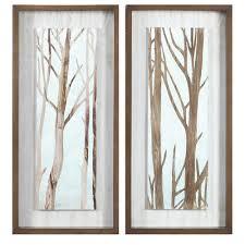 Tree Wall Decor Ebay by Wall Art Trees Shenra Com