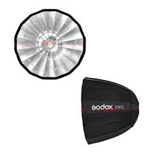 Lamp Shade Adapter Ring by Godox P90l 90cm Deep Lightweight Parabolic Softbox With Bowens