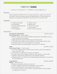 Sales Resume Examples Samples Information