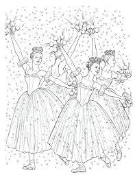 Nutcracker Coloring Page Christmas Templates And Printables Pinte