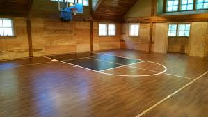 Basketball Court Resilient Gym Sports Flooring