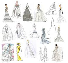 Prom Dresses Drawings Fashion