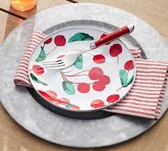 Wheaton Stripe Napkin Set of 4 Red