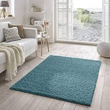 shaggy teppich flauschiger hochflor fürs wohnzimmer schlafzimmer oder kinderzimmer einfarbig schadstoffgeprüft allergikergeeignet in farbe