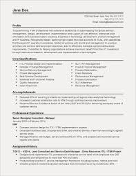 Resume Skills Samples Sample Server Best Hr Examples Profile