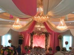 Ceiling Decor For A Wedding Reception