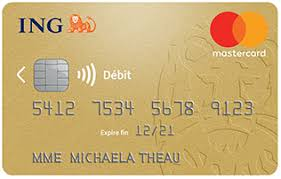 carte gold mastercard gratuite ing direct