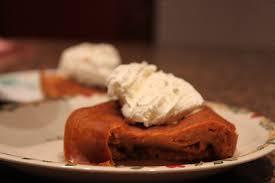 Crustless Pumpkin Pie by Easy Crust Less Pumpkin Pie In The Crock Pot With Bisquick Baking