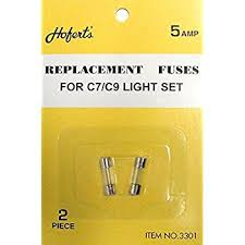 pack of 2 replacement fuses for c7 or c9