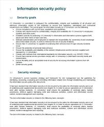 Security Resume Example Fresh Design Information Policy Sample Manager