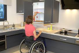 cuisine pour handicapé l aménagement de la cuisine avidom handicap