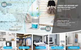 luftentfeuchter elektrischer tragbarer raumentfeuchter 900ml automatischer entfeuchter leise dehumidifier kleine luftentfeuchter für schlafzimmer