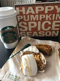 Pumpkin Scone Starbucks 2015 by Pumpkin Yumpkin The Weight Of My Weight