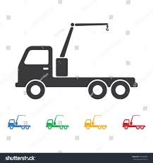 Truck Crane Icon Construction Tools Icons Stock Vector (Royalty Free ...