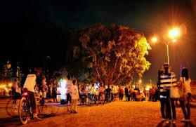 Tag Alun Jogja Malam Hari Kidul Selatan Yogyakarta Tempat Wisata