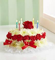 Happy Birthday Cake with Rose