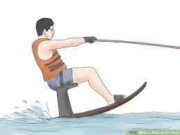 how to ride an air chair with pictures wikihow