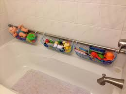 Floor To Ceiling Tension Rod Shelves by Use Extra Shower Curtain Rods To Increase Bathroom Storage U0026 More