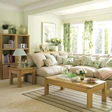 light living room colors decorating with yellow and green