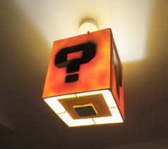 Mario Question Mark Block Lamp by Retro Game Network The One Stop Retro Gaming Community New